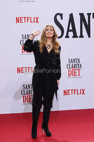 Drew Barrymore attending the &quot;Santa Clarita Diet&quot; premiere held at CineStar, Sony Center, Potsdamer Platz, Berlin, Germany, 20.01.2017. <br /> Photo by Christopher Tamcke/insight media /MediaPunch ***FOR USA ONLY***