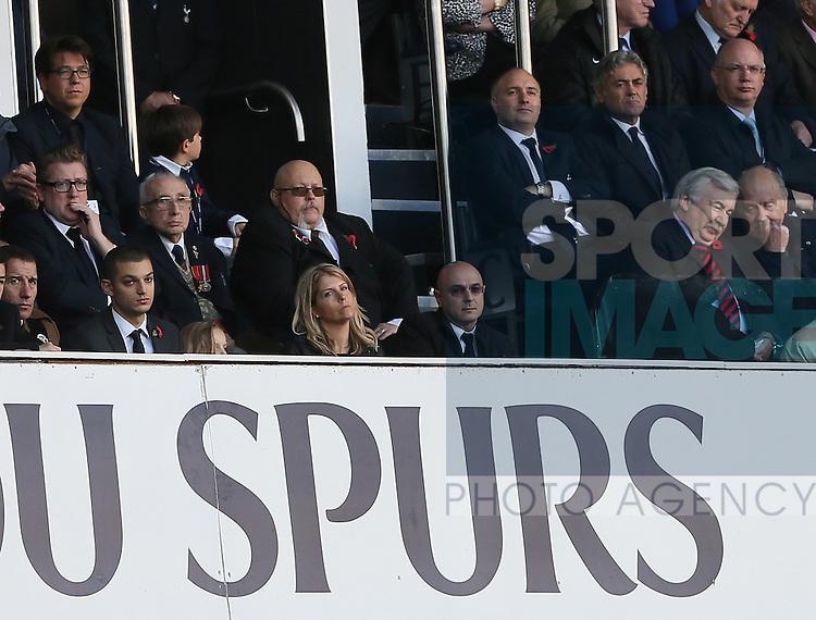 Tottenham's chairman Daniel Levy looks on <br /> <br /> - Barclays Premier League - Tottenham Hotspur vs Stoke City- White Hart Lane - London - England - 9th November 2014  - Picture David Klein/Sportimage