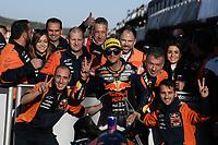 16th November 2019; Circuit Ricardo Tormo, Valencia, Spain; Valencia MotoGP, Qualifying Day; Moto 2 rider Jorge Martin (RedBull KTM) 2nd on pole - Editorial Use