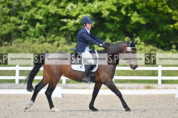 Class 3. British dressage. Brook Farm Training Centre. Essex. UK. 12/05/2019. ~ MANDATORY Credit Garry Bowden/Sportinpictures - NO UNAUTHORISED USE - 07837 394578