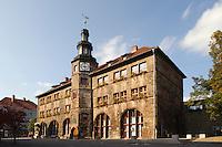 Deutschland, Thüringen, Nordhausen, Rathaus von 1610