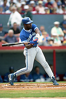 Toronto Blue Jays Joe Carter (29) during spring training circa 1992 at Chain of Lakes Park in Winter Haven, Florida.  (MJA/Four Seam Images)