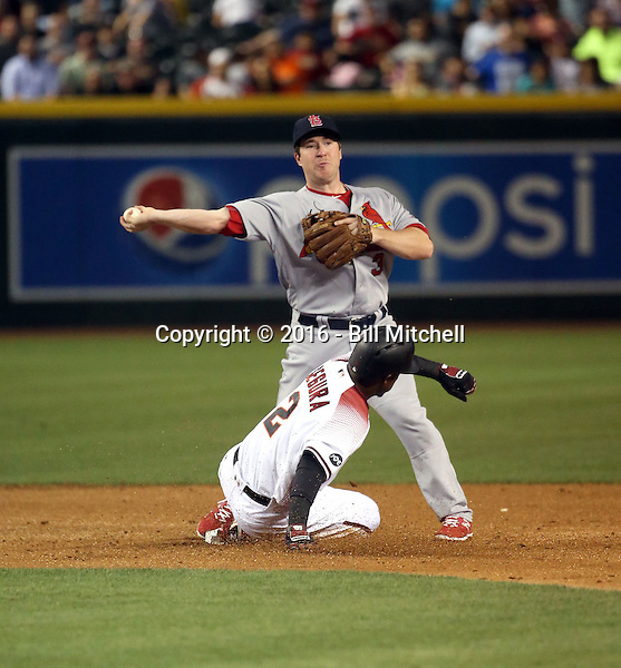 Jedd Gyorko - 2016 St. Louis Cardinals (Bill Mitchell)