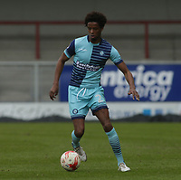 Sido Jombati of Wycombe Wanderers during the Sky Bet League 2 match between Morecambe and Wycombe Wanderers at the Globe Arena, Morecambe, England on 29 April 2017. Photo by Stephen Gaunt / PRiME Media Images.