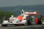 20 July 2008: Race-winner Ryan Briscoe (AUS) at the Honda Indy 200 IndyCar race at the Mid-Ohio Sports Car Course, Lexington, Ohio, USA.