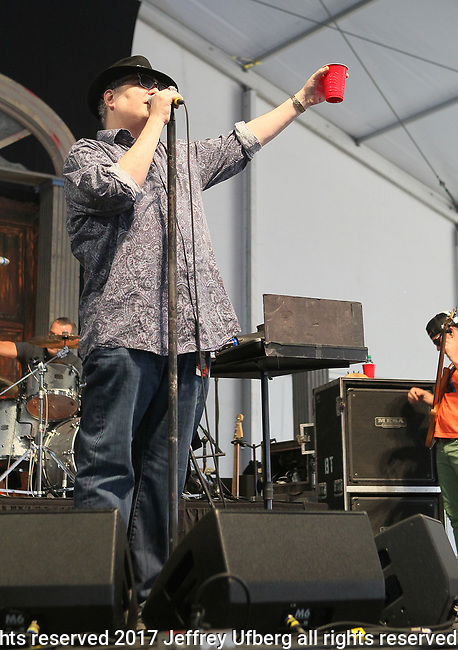 May 7, 2017 New Orleans, La.: Blues Traveler performs New Orleans Jazz & Heritage Festival on May 7, 2017 in New Orleans, La