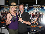 Broadway Stars Ashley Spencer & Justin Matthew Sargent.attending  a screening of 'Rock Of Ages' at the Regal E-Walk Stadium Theaters in New York City on June 11, 2012.