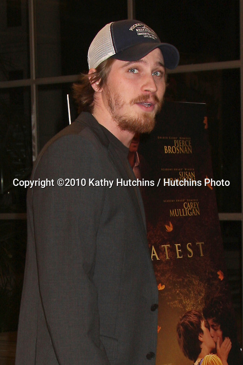 "Garrett Hedlund .arrives at  ""The Greatest"" LA Premiere.Linwood Dunn Theater.Los Angeles, CA.March 25, 2010.©2010 Kathy Hutchins / Hutchins Photo...."
