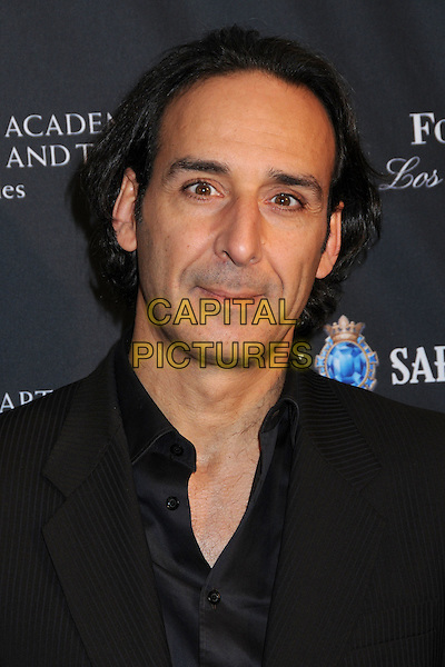 ALEXANDRE DESPLAT .17th Annual BAFTA Los Angeles Awards Season Tea Party held at the Four Seasons Hotel, Beverly Hills, California, USA, 15th January 2011..portrait headshot black shirt .CAP/ADM/BP.©Byron Purvis/AdMedia/Capital Pictures.