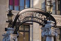 Europe/France/Rhône-Alpes/69/Rhône/Lyon: détail portail du Lycée La Martinière