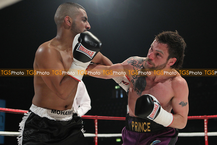 Phil Gill draws with Mo Khaled in a light welter weight contest boxing contest at Wembley Arena, promoted by Hennessy Sports - 23/07/11 - MANDATORY CREDIT: Chris Royle/TGSPHOTO - Self billing applies where appropriate - 0845 094 6026 - contact@tgsphoto.co.uk - NO UNPAID USE..