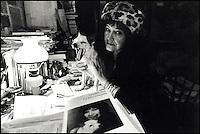 1994, Griselidis Real, writer ex prostitute © Claudio Vitale