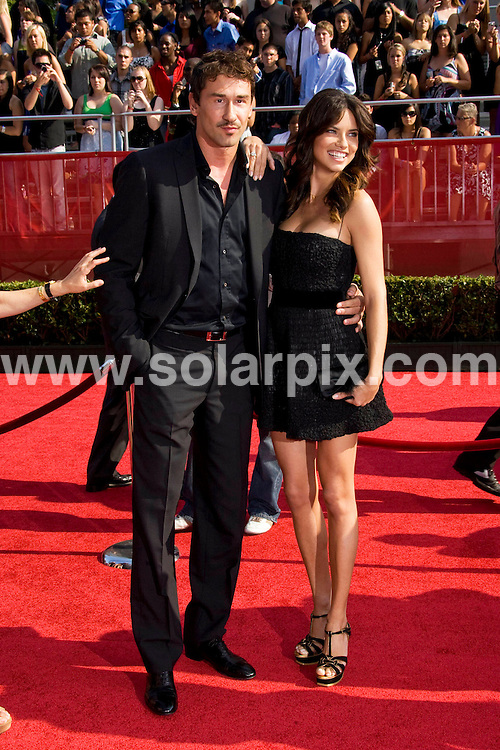 **ALL ROUND PICTURES FROM SOLARPIX.COM**.**SYNDICATION RIGHTS FOR UK, SPAIN, PORTUGAL, AUSTRALIA, S.AFRICA & DUBAI (U.A.E) ONLY**.David Beckham and Victoria Beckham attends the 16th Annual ESPY at the Nokia Theatre in Los Angeles, California in the USA. .This pic:Adriana Lima,friend..JOB REF:6850- PHZ/Chris Hatcher    DATE:16_07_08 .**MUST CREDIT SOLARPIX.COM OR DOUBLE FEE WILL BE CHARGED* *UNDER NO CIRCUMSTANCES IS THIS IMAGE TO BE REPRODUCED FOR ANY ONLINE EDITION WITHOUT PRIOR PERMISSION*