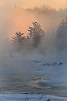 """Sunrise over the St. Louis River""<br />