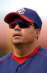 10 March 2006: Jose Vidro, second baseman for the Washington Nationals, during a Spring Training game against the Houston Astros. The Astros defeated the Nationals 8-6 at Osceola County Stadium, in Kissimmee, Florida...Mandatory Photo Credit: Ed Wolfstein..