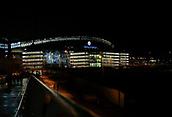 9th January 2018, Etihad Stadium, Manchester, England; Carabao Cup football, semi-final, 1st leg, Manchester City versus Bristol City; nightime exterior of the Etihad stadium