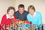 BAZAAR: That time of the year again as Mary O'Carroll, Fr Kieran O'Brien and Kathleen Houlihan getting the Hampers ready in John's Pastoral Centre on Tuesday night, for the forth cominmg St John's Parish Bazaar, which will be on Friday 4th Dec to Sun 6th Dec. ...
