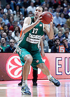 Zalgiris Kaunas' Mario Delas during Euroleague 2012/2013 match.January 11,2013. (ALTERPHOTOS/Acero) NortePHOTO