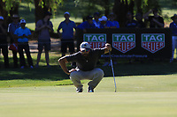 James Nitties (AUS) in action on the 3rd during the Matchplay Final of the ISPS Handa World Super 6 Perth at Lake Karrinyup Country Club on the Sunday 11th February 2018.<br /> Picture:  Thos Caffrey / www.golffile.ie<br /> <br /> All photo usage must carry mandatory copyright credit (&copy; Golffile | Thos Caffrey)