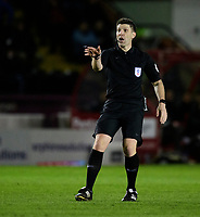 Referee Neil Hair<br /> <br /> Photographer Chris Vaughan/CameraSport<br /> <br /> The EFL Sky Bet League One - Lincoln City v Bolton Wanderers - Tuesday 14th January 2020  - LNER Stadium - Lincoln<br /> <br /> World Copyright © 2020 CameraSport. All rights reserved. 43 Linden Ave. Countesthorpe. Leicester. England. LE8 5PG - Tel: +44 (0) 116 277 4147 - admin@camerasport.com - www.camerasport.com