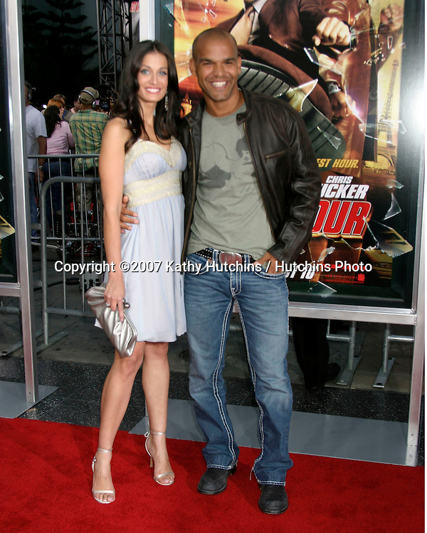 "Dayanara Torres & Amaury Nolasco.""Rush Hour 3"" Premiere.Grauman's Chinese.Los Angeles, CA.July 30, 2007.©2007 Kathy Hutchins / Hutchins Photo...."
