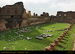 Stadium of Domitian Hippodrome South end Imperial Exedra Oval of Theodoric Palatine Hill Rome