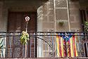 Barcelona in Catalunya in Spain in Europe