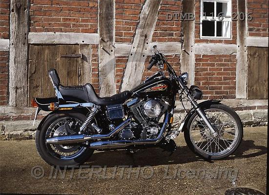 Gerhard, MASCULIN, motobikes, photos, harley-d.wide glide(DTMB116-206,#M#) Motorräder, motos
