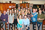 Grainne O'Mahony ( Glenard, Tralee) and her new fience Sean Rouine ( Lisdoonvarna,Co Clare ) who got engaged on Christmas morning had a fab night in Grainne's home celebrating with many family and friends.