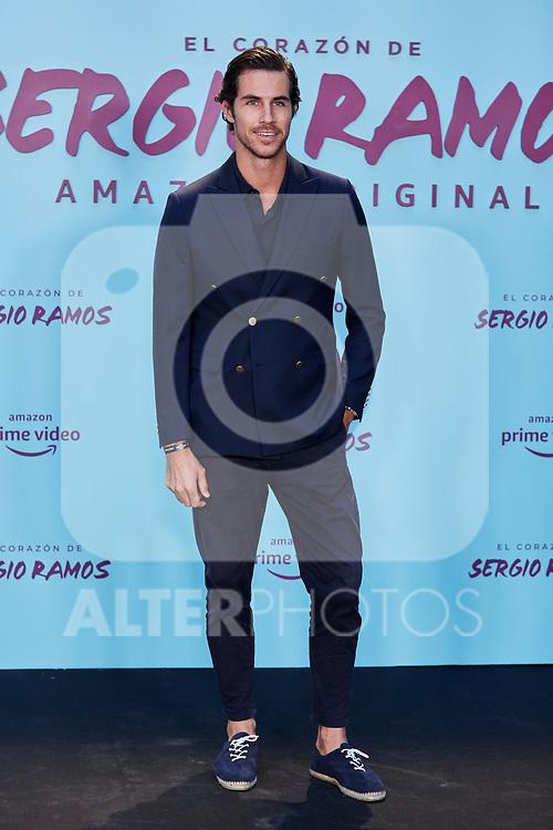 """Beltran Lozano attends to """"El Corazon De Sergio Ramos"""" premiere at Reina Sofia Museum in Madrid, Spain. September 10, 2019. (ALTERPHOTOS/A. Perez Meca)"""