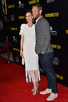 LOS ANGELES, CA. September 19, 2018: Perrey Reeves &amp; Aaron Endress-Fox at the Los Angeles premiere for Michael Moore's &quot;Fahrenheit 11/9&quot; at the Samuel Goldwyn Theatre.<br /> Picture: Paul Smith/Featureflash