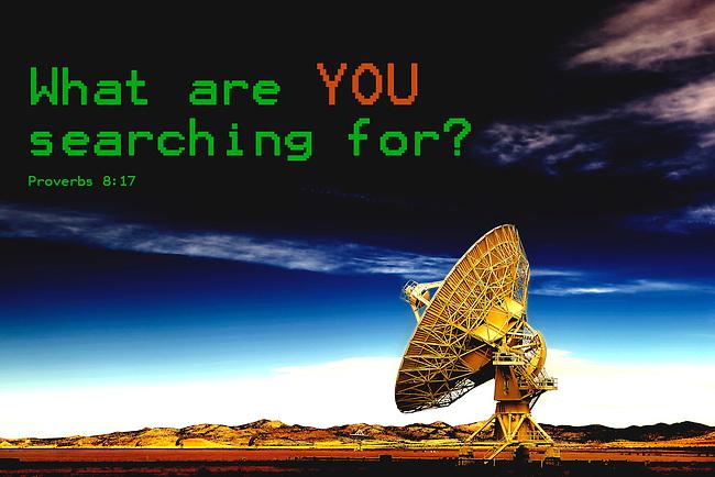 Inspirational image of the VLA near Socorro, New Mexico
