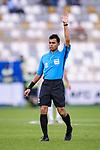 FIFA Referee Muhammad Taqi Aljaafari Bin Jahari of Singapore in action during the AFC Asian Cup UAE 2019 Group D match between Vietnam (VIE) and I.R. Iran (IRN) at Al Nahyan Stadium on 12 January 2019 in Abu Dhabi, United Arab Emirates. Photo by Marcio Rodrigo Machado / Power Sport Images