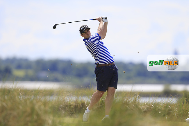 Alan Lowry (Esker Hills) during the 2nd round of the East of Ireland championship, Co Louth Golf Club, Baltray, Co Louth, Ireland. 03/06/2017<br /> Picture: Golffile   Fran Caffrey<br /> <br /> <br /> All photo usage must carry mandatory copyright credit (&copy; Golffile   Fran Caffrey)