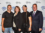 Ray Molinere, Carole Hart, Jay Paul Molinere and John McKay at the Time Warner Media Cabletime Upfront media event held at the Private Social Restaurant  in Dallas, Texas.