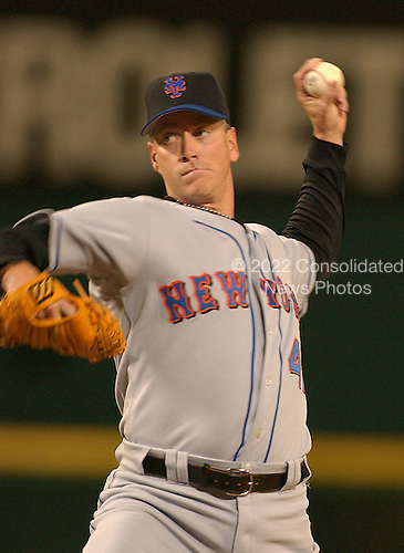 Washington, D.C. - September 24, 2005 -- New York Mets pitcher Tom Glavine (47) pitches with a 5 run lead in the first inning against the Washington Nationals at RFK Stadium in Washington, D.C. on September 24, 2005..Credit: Ron Sachs / CNP.(RESTRICTION: NO New York or New Jersey Newspapers or newspapers within a 75 mile radius of New York City)