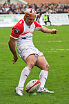biarritz. pais vasco. rugby<br /> rugby match during the rugby french league, 02-03-14<br /> En la imagen :<br /> guyot<br /> photocall3000 / rme