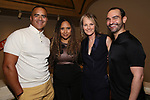 """Christopher Jackson, Tracie Toms, Helen Hunt and Javier Munoz attends the Opening Night performance afterparty for ENCORES! Off-Center production of """"Working - A Musical""""  at New York City Center on June 26, 2019 in New York City."""