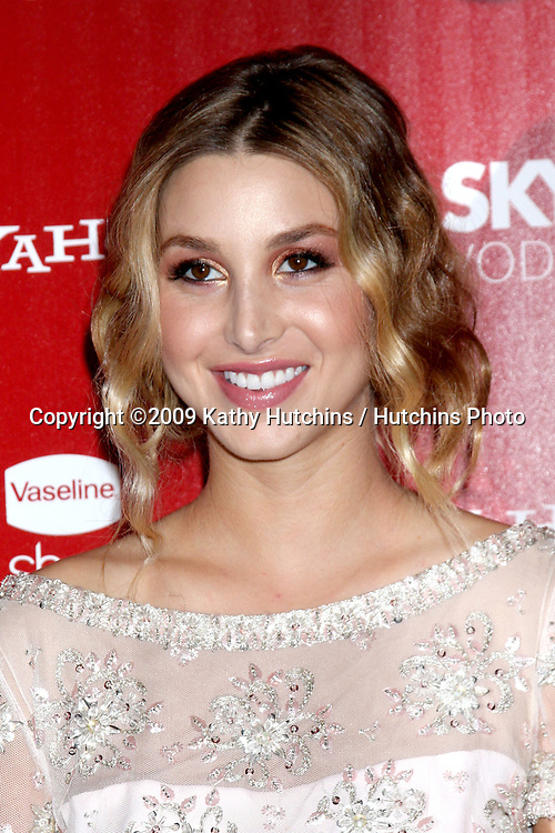 Whitney Port.arriving at the 2009 US Weekly Hot Hollywood Party.Voyeur.West Hiollywood,  CA.November 18, 2009.©2009 Kathy Hutchins / Hutchins Photo.