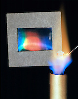 SODIUM FLAME TEST<br />