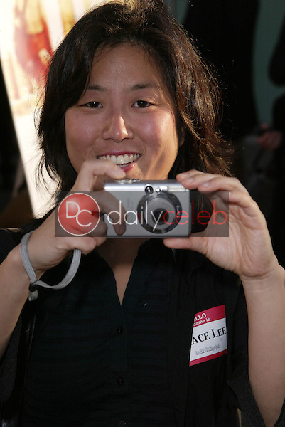 """Grace Lee<br /> at the Los Angeles Film Festival Opening Night """"Down in the Valley"""", Arclight, Hollywood, CA 06-16-05<br /> Jason Kirk/DailyCeleb.com 818-249-4998"""