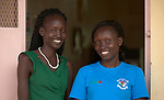 Mary Akuchieng Malou and Martha Puor Mourwel are both Loreto graduate interns at the Loreto School outside Rumbek, South Sudan. The school is run by the Institute for the Blessed Virgin Mary--the Loreto Sisters--of Ireland.