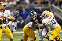 SAN ANTONIO, TX - NOVEMBER 10, 2012: The McNeese State University Cowboys vs. the University of Texas at San Antonio Roadrunners Football at the Alamodome. (Photo by Jeff Huehn)