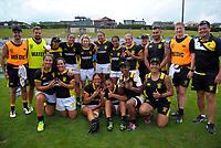 Wellington Women's team on day two of the 2018 Bayleys National Sevens at Rotorua International Stadium in Rotorua, New Zealand on Sunday, 14 January 2018. Photo: Dave Lintott / lintottphoto.co.nz