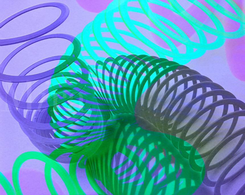 Slinkey abstract