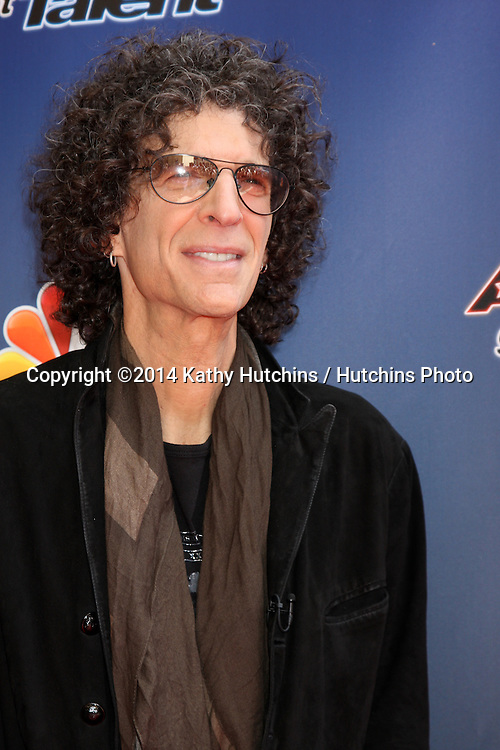 "LOS ANGELES - APR 22:  Howard Stern at the ""America's Got Talent"" Los Angeles Auditions Arrivals at Dolby Theater on April 22, 2014 in Los Angeles, CA"