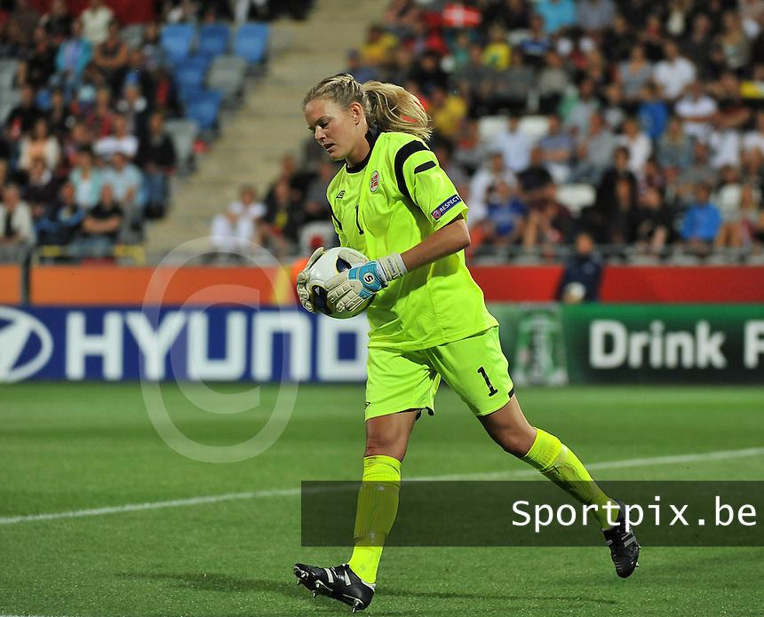 Norway - Denmark : Ingrid Hjelmseth<br /> foto David Catry / nikonpro.be