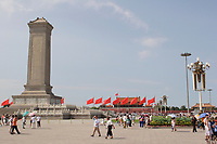 Beijing ,China- 2007 File Photo -<br /> <br /> tiananmen Place in Beijing<br /> <br /> <br /> <br /> <br /> photo : James Wong-  Images Distribution