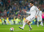 Real Madrid spanish Foward Isco during the king´s cup football match with Atletico de Madrid vs Real Madrid at the Santiago Bernabeu stadium in Madrid on Jaunary 15, 2015. Samuel de Roman / Photocall3000.