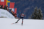 Giandomenico Salvadori competes during the 10 Km Individual Free race of Tour de ski as part of the FIS Cross Country Ski World Cup  in Dobbiaco, Toblach, on January 8, 2016. Finn Haagen Krogh wins the stage. Martin Johnsrud Sundby (2nd) remains leader. French Maurice Manificat is third. Credit: Pierre Teyssot